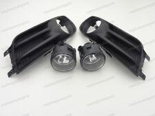 Clear Bumper Fog Driving Lights w Cover Bulbs Kit for NISSAN TIIDA 2012-2016