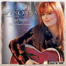 WYNONNA Her Story: Scenes From A Lifetime 2CD BRAND NEW Live Compilation Judd