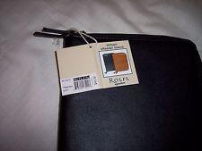 "Rolfs William Leather E-Reader Case,  8"" x 6-1/2"", Black"