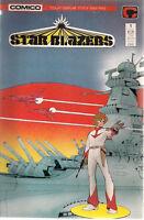 STAR BLAZERS (3) #1 #3 #4 (1987) Comico Comics FINE