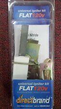 Universal Hot Surface Igniter Kit, 120 Volt Nitride, FLAT, Glo-Stix Igniter,