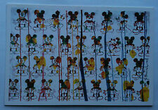"MR BRAINWASH MICKEY MOUSE EVENT / PROMO CARD"" ICONS"" NEW YORK ARTSHOW RARE"
