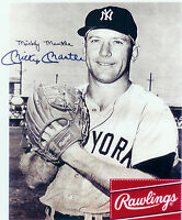 MICKEY MANTLE NEW YORK YANKEES  8X10 PHOTO RAWLINGS  BASEBALL HOF USA MLB