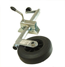 34mm trailer jockey wheel and clamp For ERDE trailers Free p/p