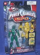 """Power Rangers SPD 5"""" GREEN BATTLIZED Power Ranger New K-9 Factory Sealed 2004"""