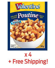 4 Pack of Authentic Valentine Poutine Sauce Gravy - From Québec + Free Shipping!