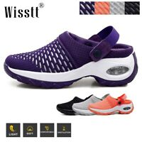 Women's Sport Air Cushion Sandals Breathable Mesh Walking Slip-On Running Shoes
