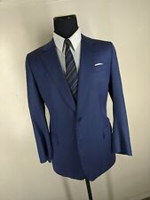 Fallan & Harvey Bespoke 100% Wool Sport Coat 2 Btn Side Vents Fit 42-44 Reg