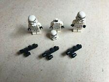 Lego Star Wars: Lot de 3 Mini-Figurines de Stormtroopers Vintages | Réf:7264