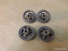 Ikea DWH C00W Roulement pour panier Roulettes inférieur dessous 4 Stück gris