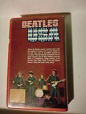Rare Beatles VHS video. A Mountain Video Presentation VHS 60 mins. 1980.