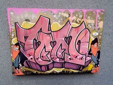 "Urban Art Graffiti  / Peinture Originale de Nickos TFB  "" Feat Heckle & Jeckle """