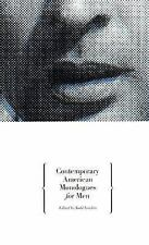 Contemporary American Monologues for Men-ExLibrary