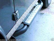 """Land Rover Defender 90 3 """" Xs Style Marche-Pieds Argent Carreaux (Paire) - Re /"""