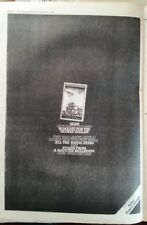 SKIDS Stuart Adamson Yankee Dollar 1979 UK Poster size Press ADVERT 16x12 inches