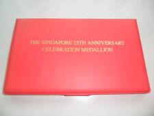 1990 The Singapore 25th of Independence Celebration Medallion