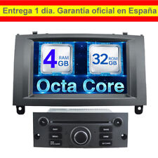2DIN ANDROID GPS PEUGEOT 407 CD, DVD, USB, GPS, MIRROR LINK, CAR PLAY OPCIONAL