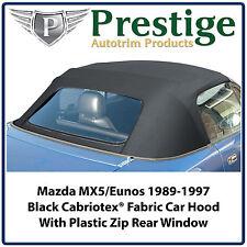 Mazda MX5 MX-5 Eunos MK1 NA Car Hood Hoods Roof Roofs Mohair Fabric 1989-1997