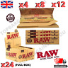 RAW RIZLA CLASSIC KING SIZE SLIM 110MM ROLLING PAPER WITH ROACH FILTER TIPS UK