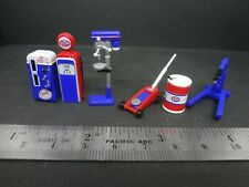 1:64 Scale Stp Shop Tools - Garage equipment - Diorama Accessories 6 pcs