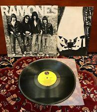 "RAMONES - RAMONES S/T - Rare OZ/Australian Mispress ""David Byrne"" / EX+ LP"