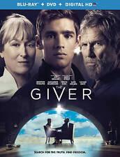 The Giver (Blu-ray, 2014) Jeff Bridges, Meryl Streep, Brenton Thwaites