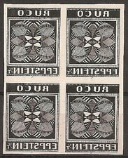 s1694) Italien Eppstein Ruco Maschinenprobe VB - Italy proof  block of four