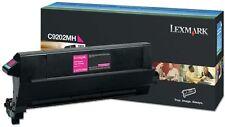 Genuine Original Lexmark Magenta/Pink Laser Printer Toner Cartridge C9202MH C920