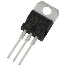 10 L7815CV STM Spannungsregler 7815 Voltage Regulator 1A +15V TO-220 856119