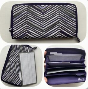 Thirty One Save Your Way Coupon Clutch Wallet Zip Zag Zoom With Inserts!!