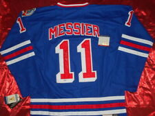 AUTOGRAPHED MARK MESSIER SIGNED NEW YORK RANGERS NHL HOCKEY JERSEY w/PROOF