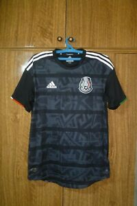 Mexico Adidas Authentic Football Shirt Home 2019 Climachill Jersey Men Size M