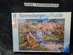 "Ravensburger #164653  ""Animal Kingdom""  3000 Piece Puzzle ""NEW"" P-4"