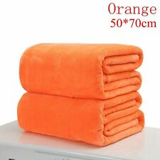Super Soft Warm Solid Warm Micro Plush Fleece Blankets Throw Rugs Sofa Bedding