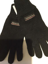 Mens Thermal Lined Knitted Gloves One Size