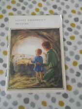 Vintage Booklet Little Childrens Prayers From The Mothers Union