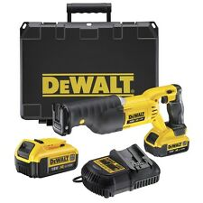 Dewalt DCS380M2 18V XR lit-Ion Reciprocating Saw 2 4AH Batteries, Case, Charger