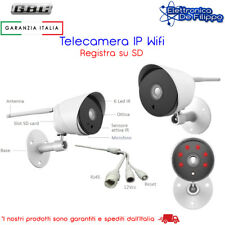 TELECAMERA IP WI-FI HD 1080P GESTIBILE DA SMARTPHONE TABLET PC