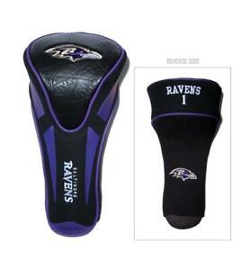 Baltimore Ravens Golf Headcover - Single Apex Jumbo [NEW] Sock Head Cover
