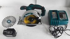 "Makita Cordless Circular Saw BSS610 18V 6-1/2"" with Battery and Charger"