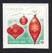 CHRISTMAS ORNAMENT = Single - cut Booklet Canada 2010 #2413 MNH