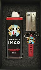 Imco Streamline Chesterfield - gift set, Imco Benzinfeuerzeug Geschenkbox new!