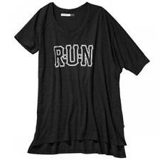 adidas Originals Womens RUN Logo Asymmetric Slouch Tee | CLEARANCE BARGAIN