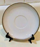 Royalton China Co  Translucent Porcelain Golden Elegance Saucers