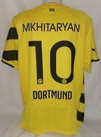 Puma BVB Borussia Dortmund Trikot Gr. XL 10 Mkhitaryan Saison 2014 / 2015