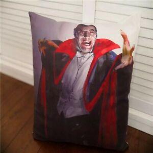 DRACULA SOFT PLUSH CUSHION COVER 🇬🇧 UK SELLER 45X45CM VINTAGE VAMPIRE 🎥 FILM