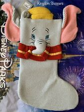 2020 Disney Parks Dumbo Christmas Holiday Knitted Stocking Brand New