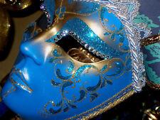 Authentic Venetian Mask, Swarovski Crystals, Original