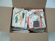 large mixed brand  lot cut and uncut 67 sewing patterns simpicity crafts mcCalls