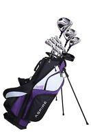NEW Aspire XD1 Ladies Womens Right Handed Golf Club Set - TALL SIZE - PURPLE
